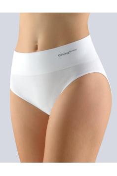 Biele nohavičky so širokým bokom