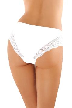 Biele bavlnené nohavičky BBL